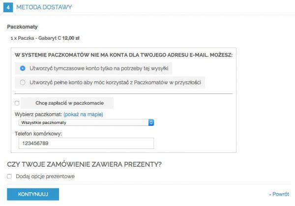 Magento Paczkomaty - proces zamówienia - Smartmage.pl
