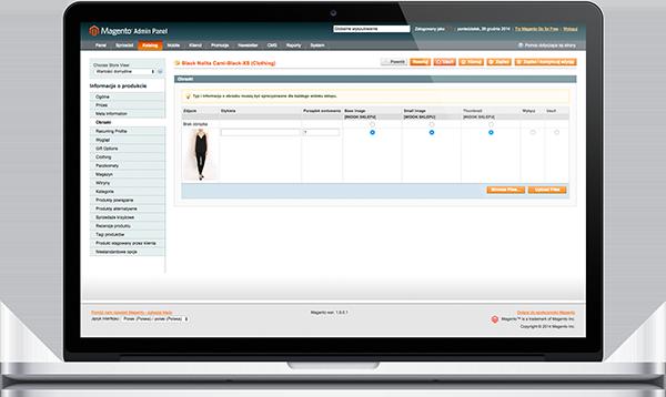 Zarządzanie katalogiem produktów