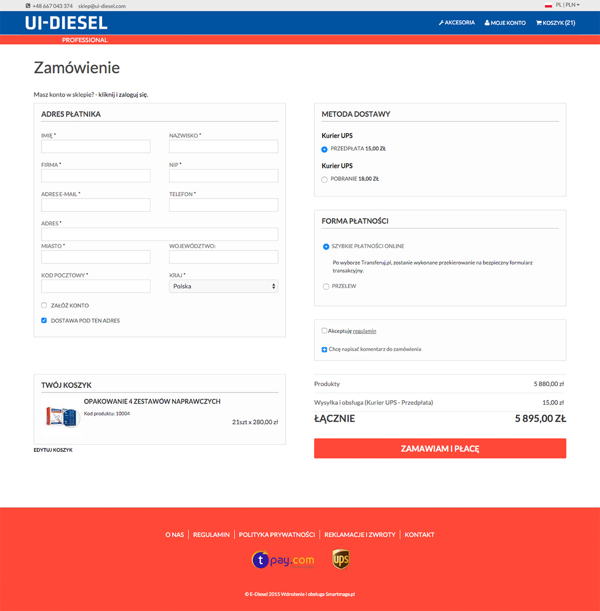 Zamówienie w ui-diesel.com