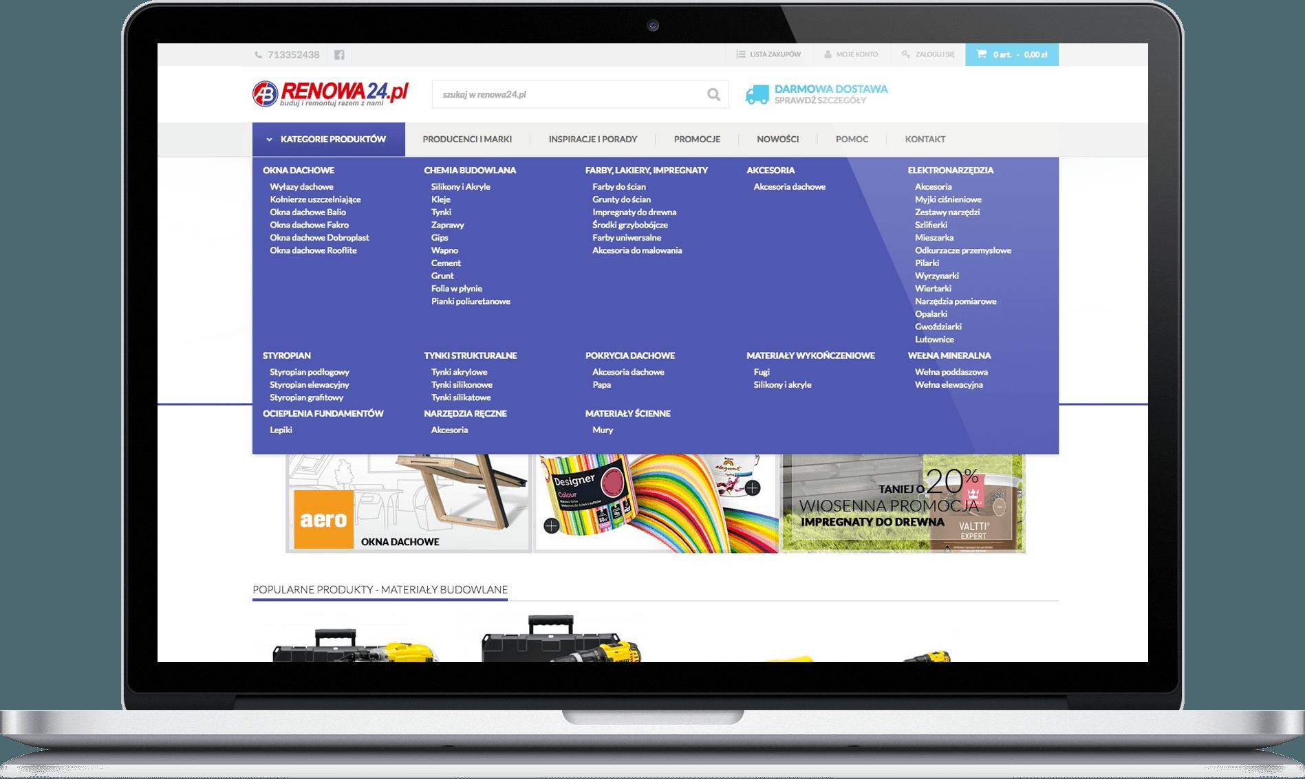 renowa24 home page