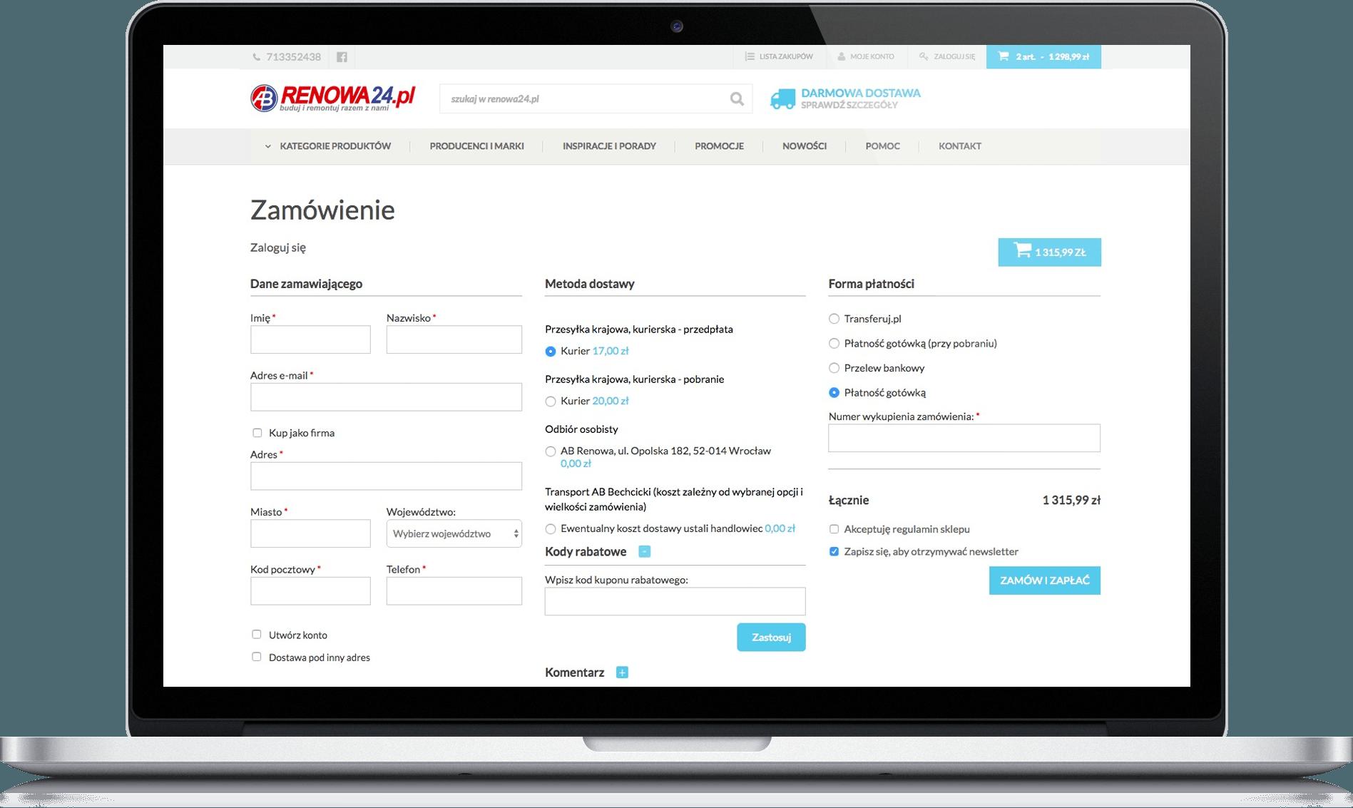 renowa24.pl zamówienie