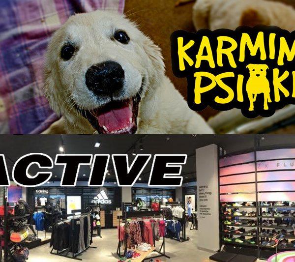 Karmimy psiaki / Active