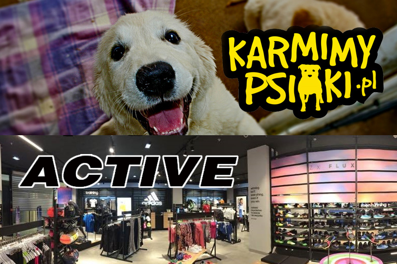 Karmimy psiaki / Active