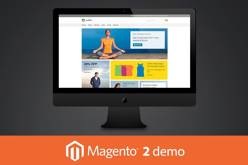 Magento 2 demo