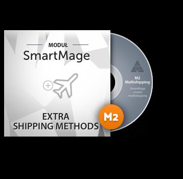 Dodatkowe metody dostawy  – moduł darmowy